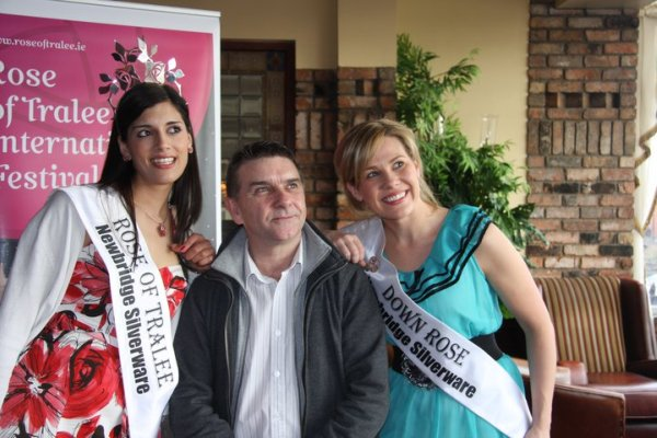 2010 Rose of Tralee Clare Kambamettu, 2010 Co Down Rose Gemma Murphy and Seamus McCabe
